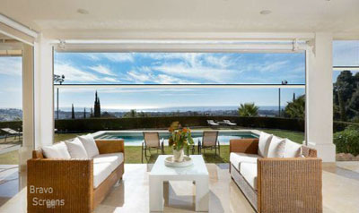 Outdoor Living with Retractable screens